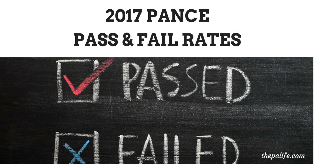 PANCE Failure and Pass Rate: Physician Assistant