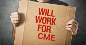 How to get 100 CME Credits as a Broke Physician Assistant