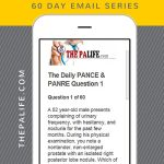 The FREE 60-Day PANCE and PANRE Board Review Email Series