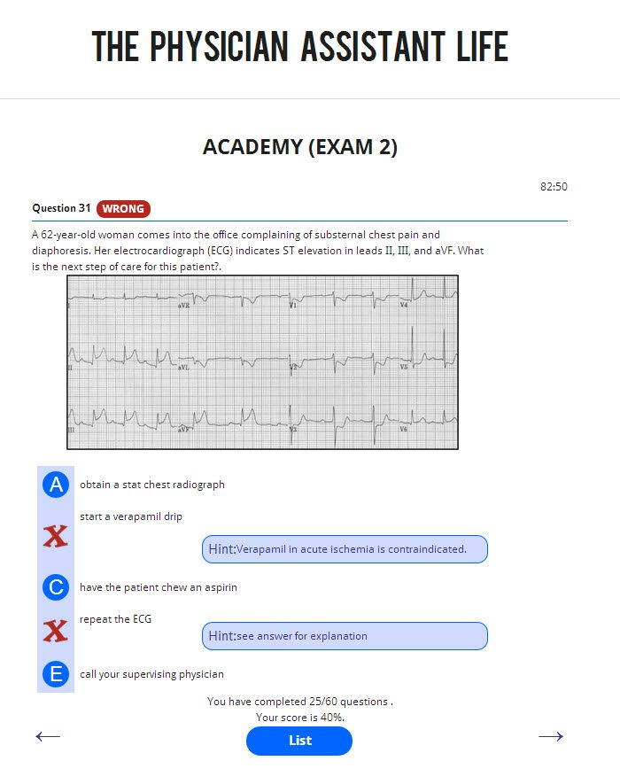 The PANCE and PANRE Exam Academy | CHEAP Physician Assistant