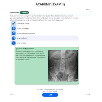 PANCE AND PANRE ACADEMY ONLINE PRACTICE EXAM 1