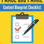 PANCE and PANRE Content Blueprint Checklist
