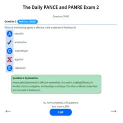 The Daily PANCE and PANRE 2 250p
