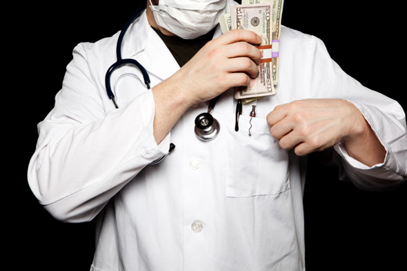 doctor-and-money
