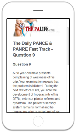 THE DAILY PANCE AND PANRE FAST TRACK