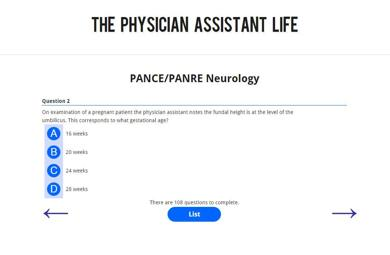 PANCE and PANRE Neurology Blueprint Topic Specific Exam