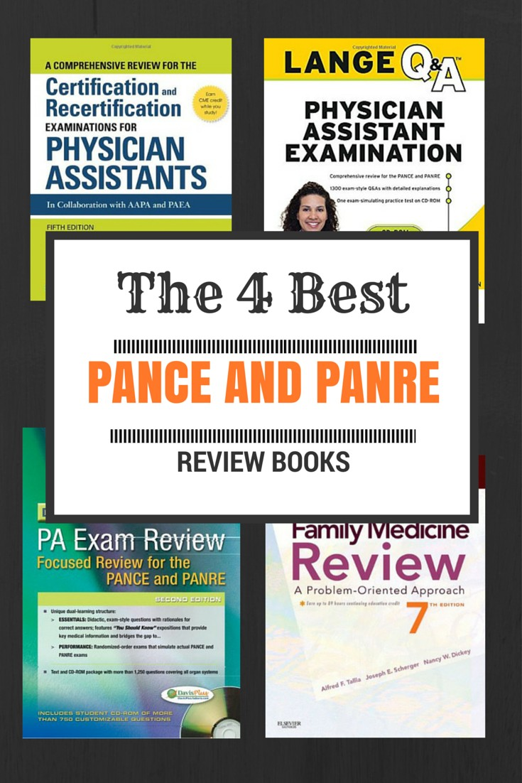 The 4 Best PANCE and PANRE Study Guides and Review Books | The Physician  Assistant Life