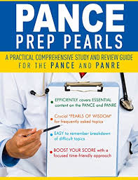 PANCE PREP PEARLS The Best PANCE and PANRE Board Review Books