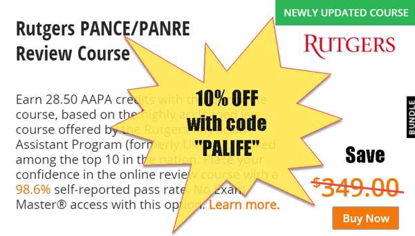 10 off rutgers review course with coupon discount code palife - Physician Assistant Interview Questions For Physician Assistants With Answers