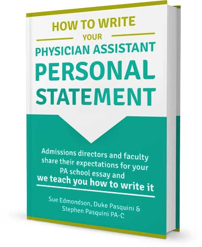 Successful physician assistant personal statement
