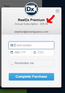 ReelDx 40 Percent Discount Registration 3
