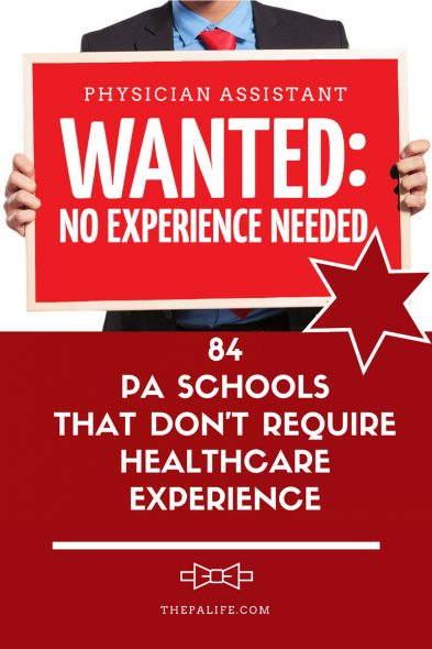 84 PA Schools That Dont Require Healthcare Experience Hours