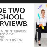 A Look Inside Two PA School Interviews