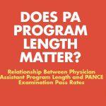 Does PA Program length matter?