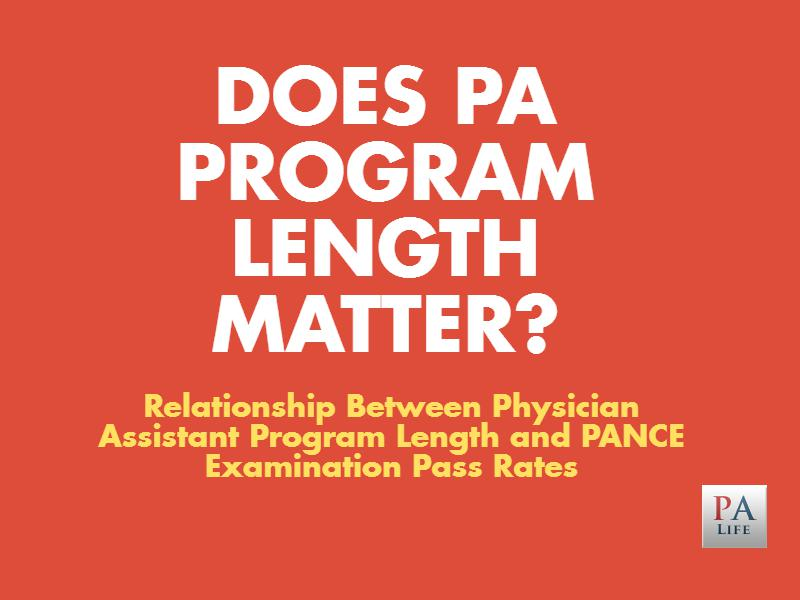 does-pa-program-length-matter