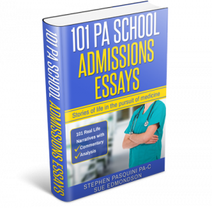 physician assistant essay admission