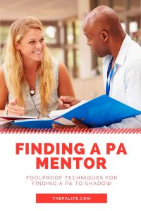 Finding a PA Mentor