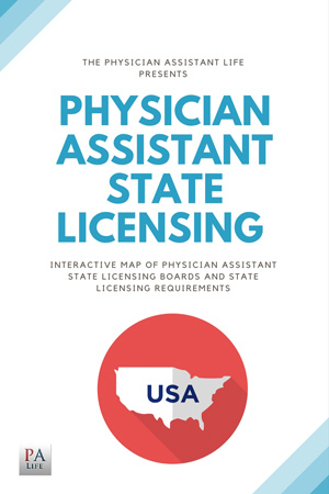 Interactive map of physician assistant state licensing boards
