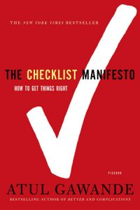 The Checklist Manifesto Books for PAs
