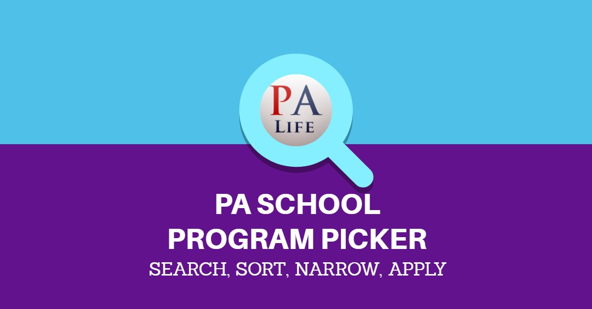 PA SCHOOL REQUIREMENT SEARCH ADMISSIONS TOOL AND TABLE