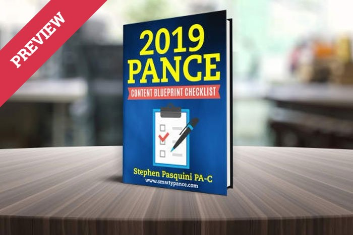2019 NCCPA PANCE CONTENT BLUEPRINT UPDATES PREVIEW