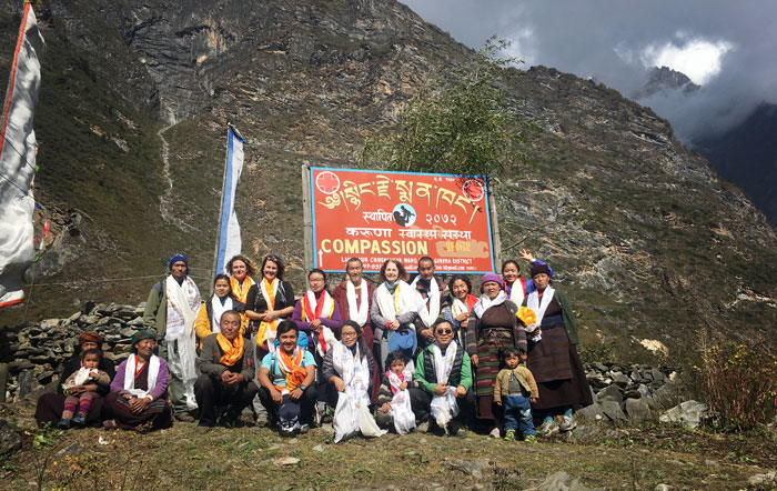 Tsum Valley Medical Mission Group Photo