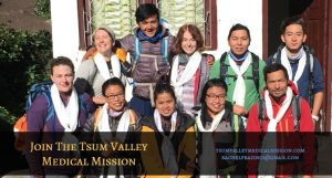 The Tsum River Valley Medical Mission Team