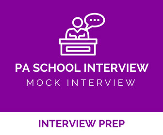 Mock PA School Interview Preparation - Physician Assistant Live Recorded Mock Interviews