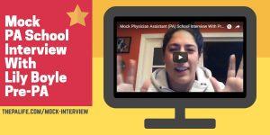 Mock PA School Interview