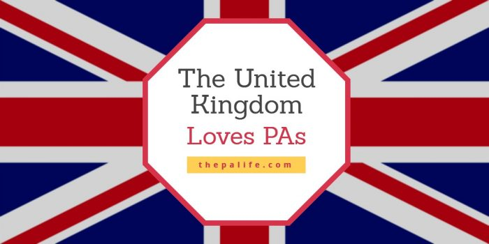 The United Kingdom Loves PAs