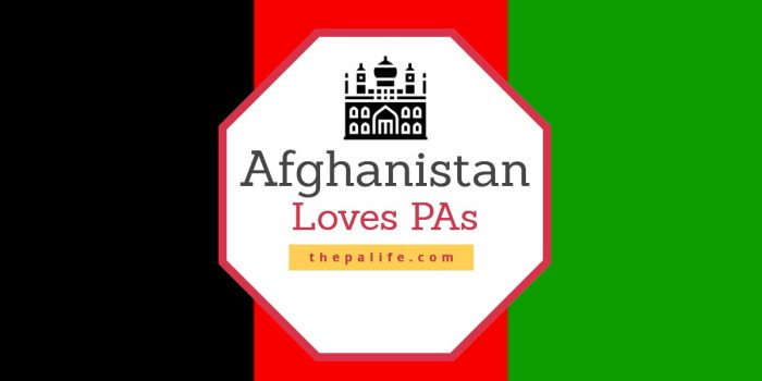Afghanistan Loves PAs