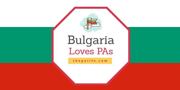 Bulgaria Loves Physician Assistants
