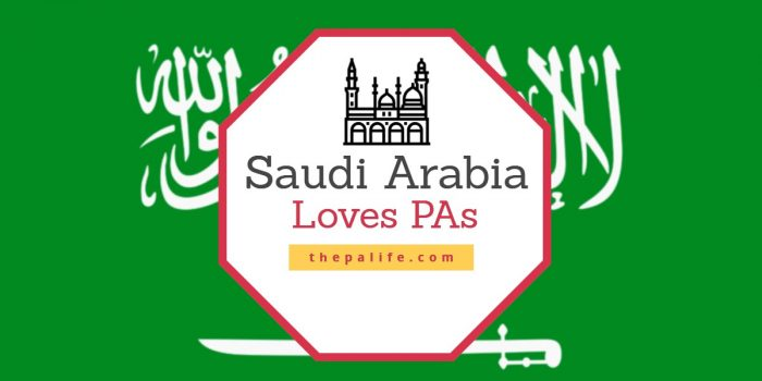 Saudi Arabia Loves PAs
