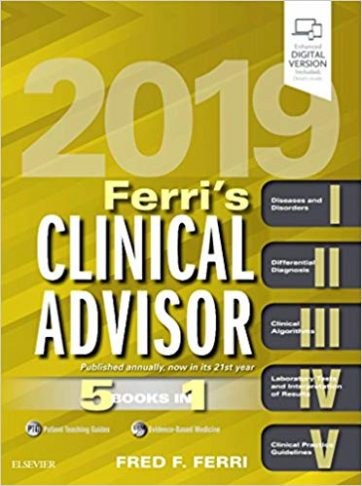 Ferri's Clinical Advisor 2019 5 Books in 1
