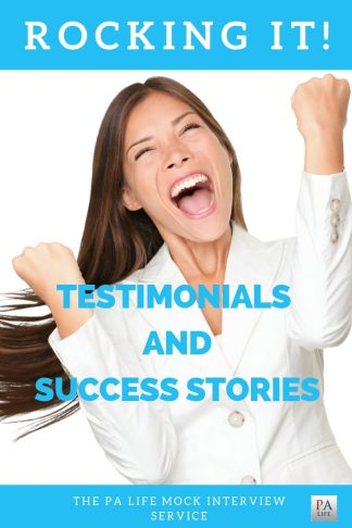 The PA Life Physician Assistant Mock Interview Testimonials and Success Stories