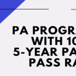 PA Programs with a 100% 5-Year PANCE Pass Rate