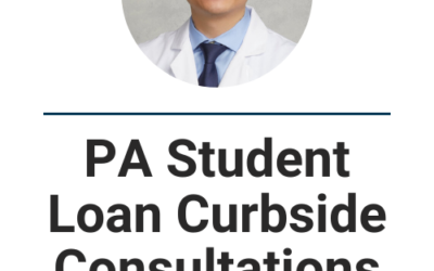 PA School Student Loan Curbside Consultation and Repayment Optimization