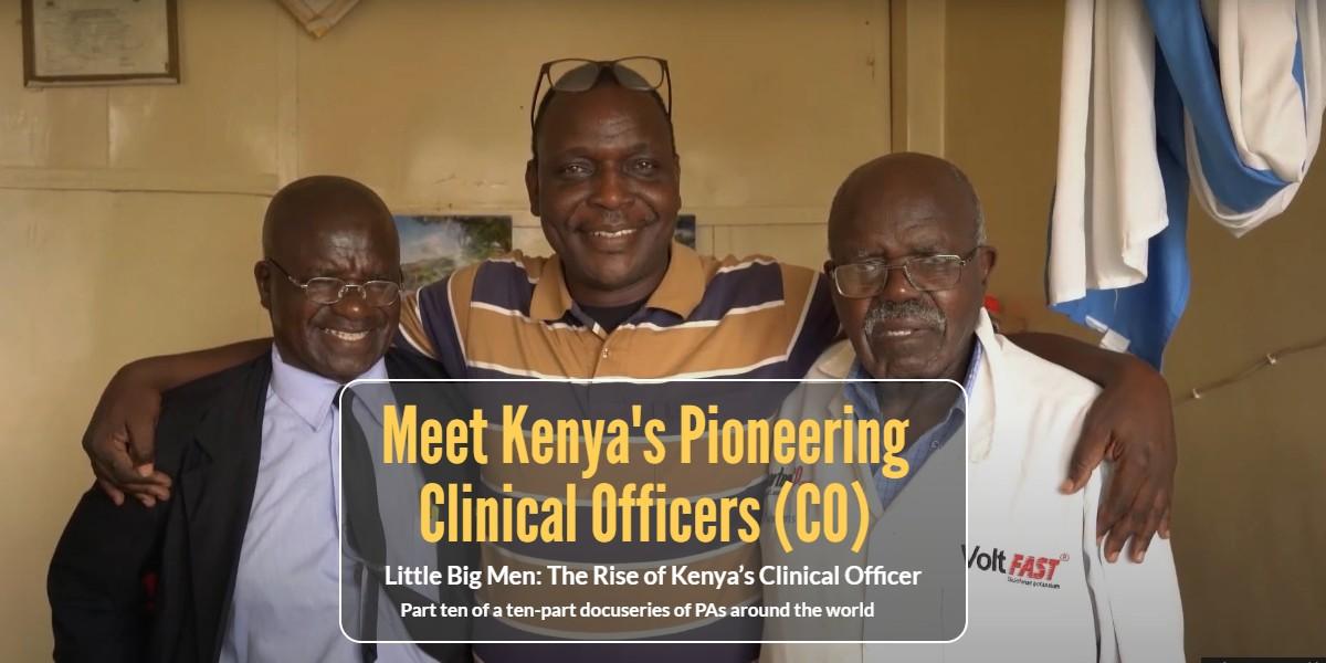 Meet Kenya's Pioneering Clinical Officers (CO)